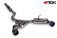 ARK Performance GRiP Burnt Tip Exhaust - Scion FR-S / Subaru BRZ  13-ON