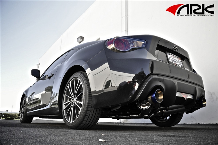 ARK Performance GRiP Burnt Tip Exhaust - Scion FR-S ...
