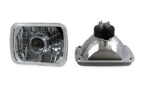 "Dapper Lighting 7x6"" Chrome Projector Square Headlight Kit"