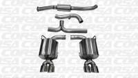 Corsa Cat-Back Exhaust - Polished Tips - Subaru WRX / STI Sedan 11-13