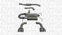 Corsa Cat-Back Exhaust - Polished Tips - Subaru WRX / STI Hatchback 08-13
