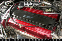 Carbign Craft Carbon Fiber Spark Plug Cover - Mitsubishi Evo VIII / IX