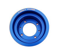 Agency Power Underdriven Pulley Aluminum BLUE - Mazda RX8