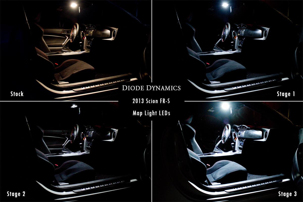 LED Dome / Map Light - Scion FR-S / Subaru BRZ