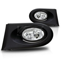 Winjet Fog Lights  (Clear) - Acura RSX 02-04