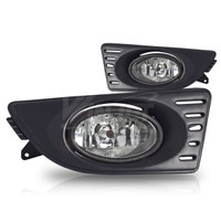 Winjet Fog Lights  (Clear) - Acura RSX 05-07