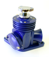 Agency Power Adj. Blow Off Valve BLUE - Subaru WRX & STI 02-07