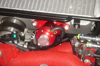 Agency Power Adj. Blow Off Valve RED - Subaru WRX & STI 02-07