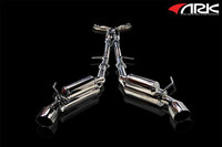 ARK Performance GRiP Polished Tip Exhaust - Infiniti G37 Coupe AWD (Q60) 08-15