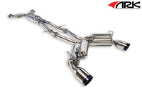 ARK Performance GRiP Tecno Tip Exhaust - Nissan 370Z 09-ON