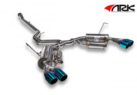 ARK Performance GRiP Tecno Tip Exhaust - Subaru WRX / STI Sedan  11-14