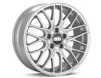 BBS CS 19x8.5 5x114.3 ET42 Sport Silver Wheel -82mm PFS/Clip Required