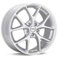 BBS SR 17x8 5x120 ET30 CB72.5 Sport Silver Wheel