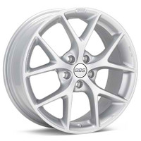 BBS SR 17x7.5 5x114.3 ET42 Sport Silver Wheel -82mm PFS/Clip Required