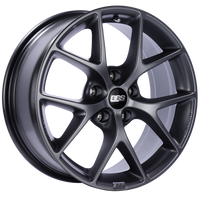 BBS SR 18x8 5x120 ET32 Satin Grey Wheel -82mm PFS/Clip Required