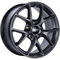 BBS SR 18x8 5x130 ET50 CB71.6 Satin Grey Wheel
