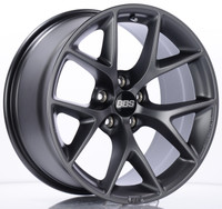 BBS SR 18x9 5x112 ET21 CB66.5 Satin Grey Wheel