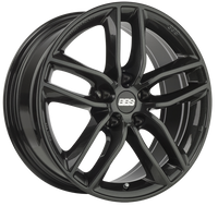 BBS SX 18x8 5x114.3 ET40 Crystal Black Wheel -82mm PFS/Clip Required