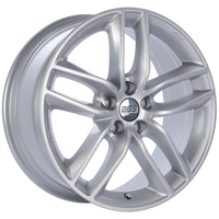 BBS SX 18x8 5x108 ET45 Sport Silver Wheel -70mm PFS/Clip Required