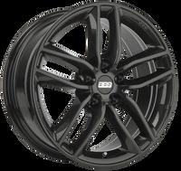 BBS SX 17x7.5 5x112 ET45 Crystal Black Wheel -82mm PFS/Clip Required