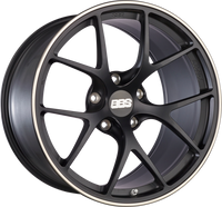 BBS FI 19x8.75 5x130 ET50 CB71.6 Satin Black Wheel