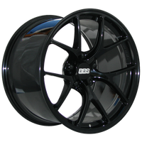 BBS FI 19x12 5x130 ET50 CB71.6 Gloss Black Wheel