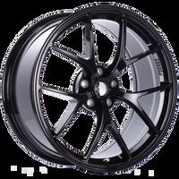 BBS FI 19x8.75 5x108 ET18 CB67 Gloss Black Wheel