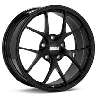 BBS FI 19x9.5 5x120 ET28 CB72.5 Gloss Black Wheel
