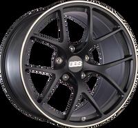 BBS FI 20x8.75 5x114.3 ET44 CB67 Satin Black Wheel