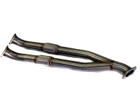 Agency Power Stainless Steel Mid Y Pipe - Nissan R35