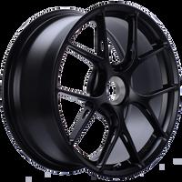 BBS FI-R 20x9 Center Lock ET52 CB84 Satin Black Wheel