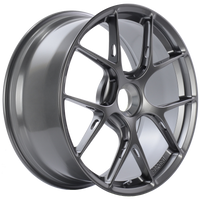 BBS FI-R 20x9 Center Lock ET52 CB84 Gloss Platinum Wheel