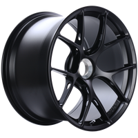 BBS FI-R 20x12 Center Lock ET44 CB84 Satin Black Wheel