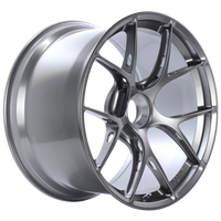 BBS FI-R 20x12 Center Lock ET44 CB84 Gloss Platinum Wheel