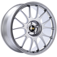 BBS RE 20x8.5 5x114.3 ET25 Diamond Silver Wheel -82mm PFS/Clip Required