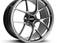 BBS RI-D 20x11 5x112 ET50 Diamond Black Wheel -82mm PFS/Clip Required