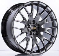 BBS RN 20x9.5 5x120 ET40 Diamond Black Wheel -82mm PFS/Clip Required