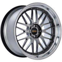 BBS LM 20x10.5 5x114.3 ET20 CB66 Diamond Black Center Diamond Cut Lip Wheel