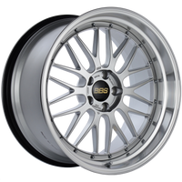 BBS LM 20x10.5 5x114.3 ET20 CB66 Diamond Silver Center Diamond Cut Lip Wheel