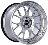 BBS LM-R 20x11 5x114.3 ET20 CB66 Diamond Silver Center Diamond Cut Lip Wheel