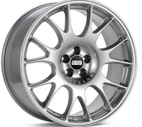 BBS CH 19x8.5 5x100 ET30 Diamond Silver Wheel -70mm PFS/Clip Required