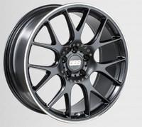 BBS CH-R 20x9.5 5x114.3 ET40 CB66 Satin Black Polished Rim Protector Wheel