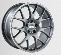 BBS CH-R 20x10.5 5x114.3 ET24 CB66 Satin Titanium Polished Rim Protector Wheel