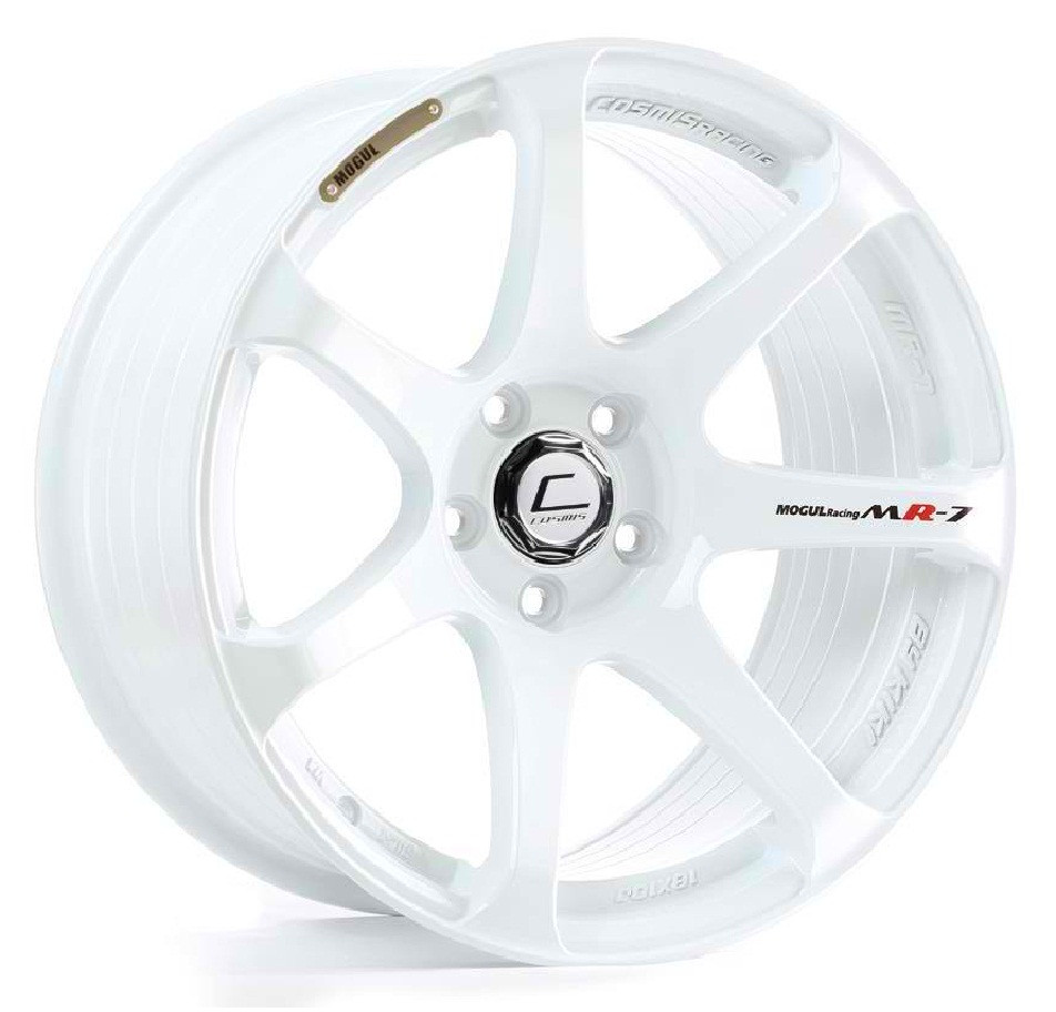 Cosmis Racing MR7 Wheel in White