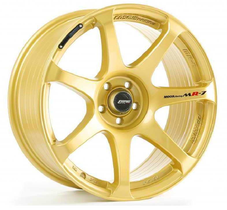 Cosmis Racing MR7 Wheel in Gold