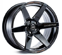 Cosmis Racing S1 Wheel in Black with Milled Spokes