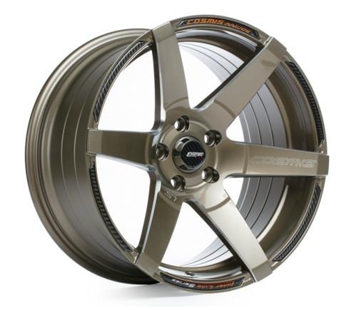 Cosmis Racing S1 Wheel in Bronze with Milled Spokes