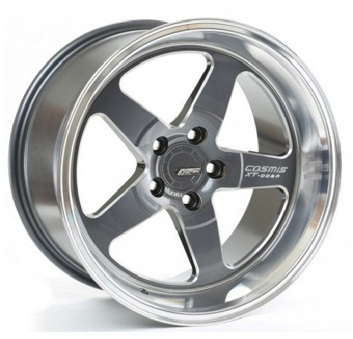 Cosmis Racing XT-005R Wheel in Gunmetal with Machined Lip