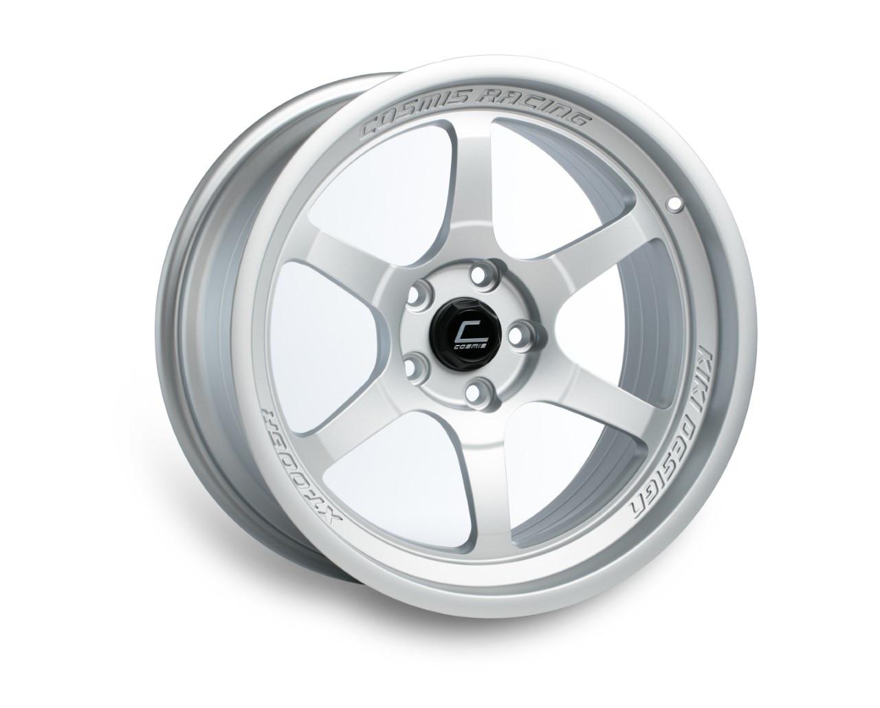 Matte Silver Cosmis Racing XT-006R Wheel