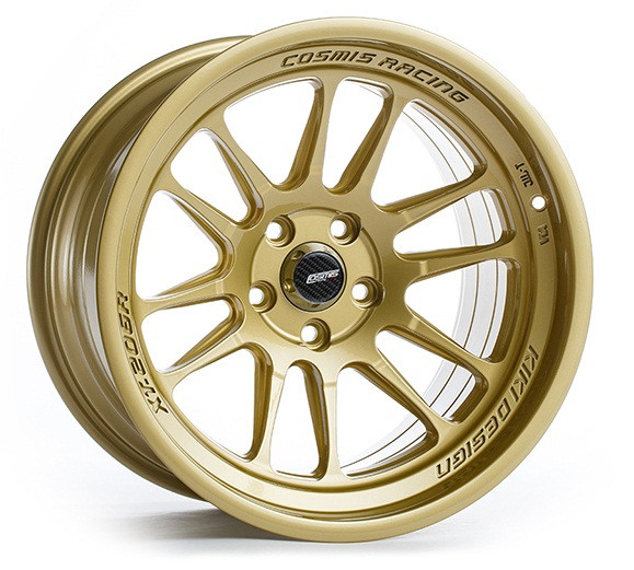 Cosmis Racing XT-206R Wheel in Gold
